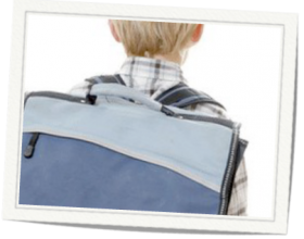 Pesada carga: las mochilas escolares